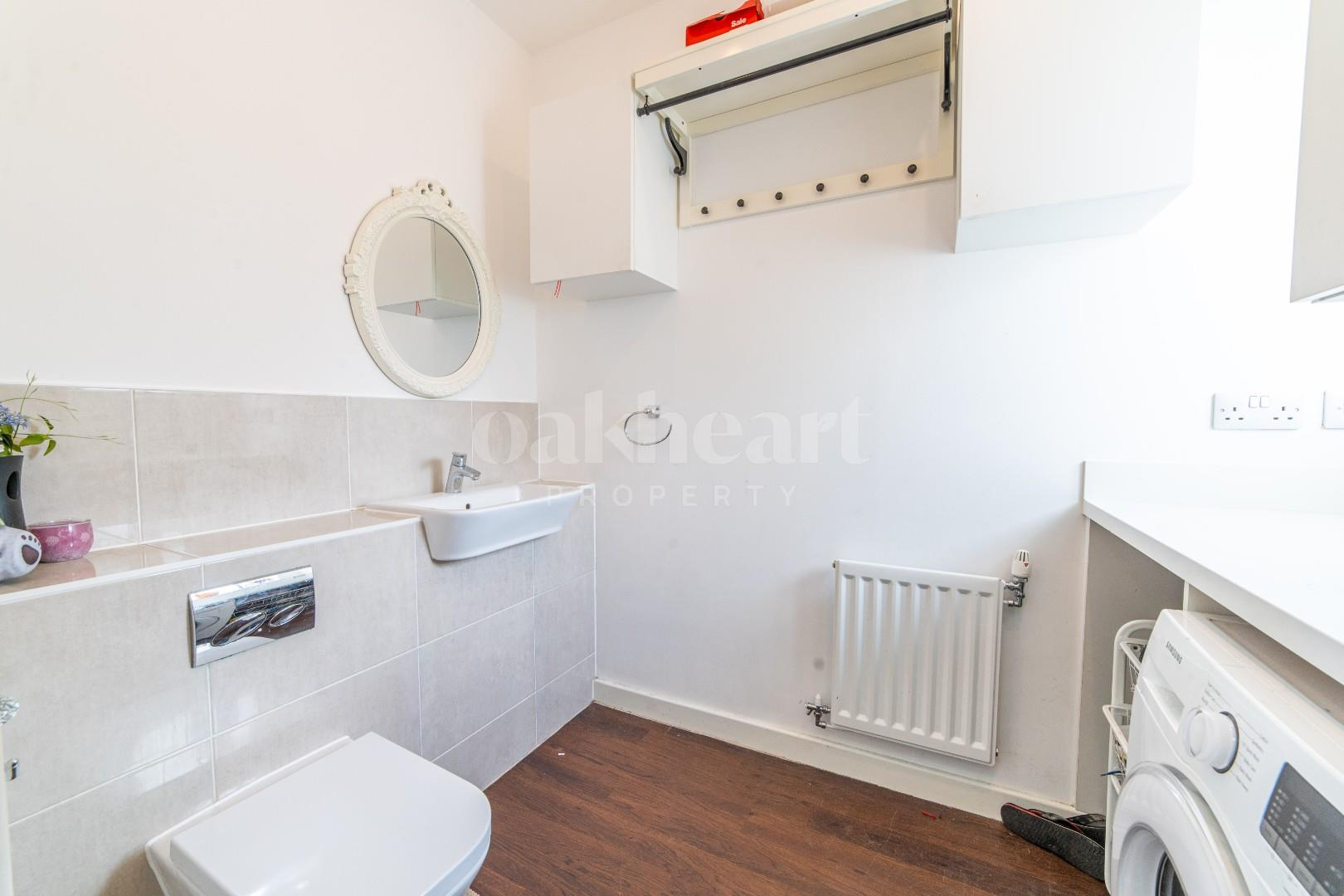Cloakroom/ Utility Room